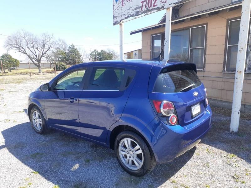 Chevrolet Sonic 2013 price $7,000