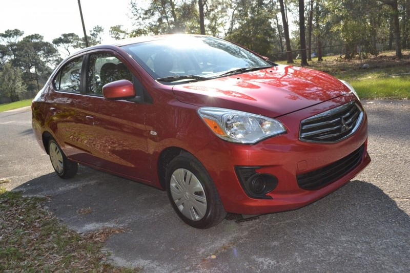 Mitsubishi Mirage G4 2017 price $8,265