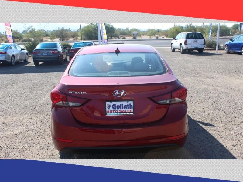 Hyundai Elantra 2016 price $7,900