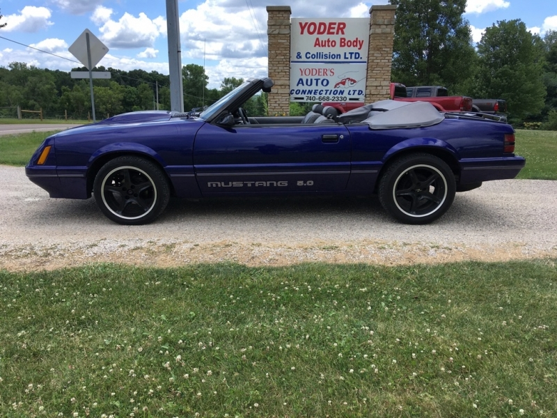 Ford Mustang 1986 price $9,995