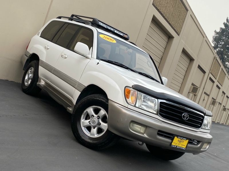 2000 toyota land cruiser 4wd white on beige look a h motors inc dealership in concord 2000 toyota land cruiser 4dr 4wd