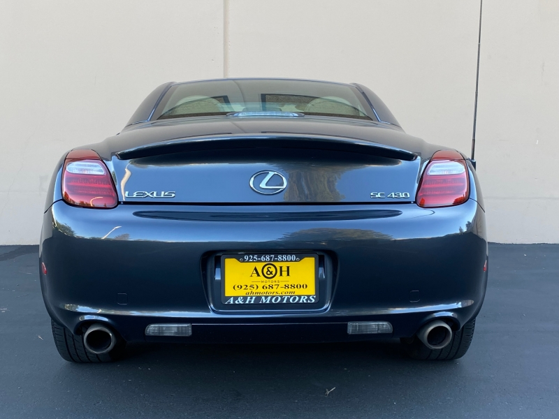 Lexus SC 430 2007 price $21,995