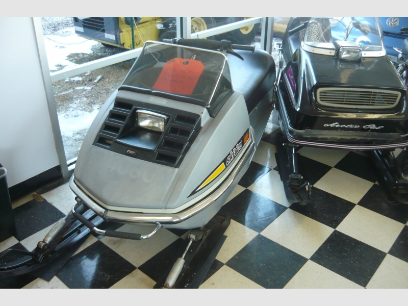SKIDOO SILVRE BULLET  1972 price $1,800