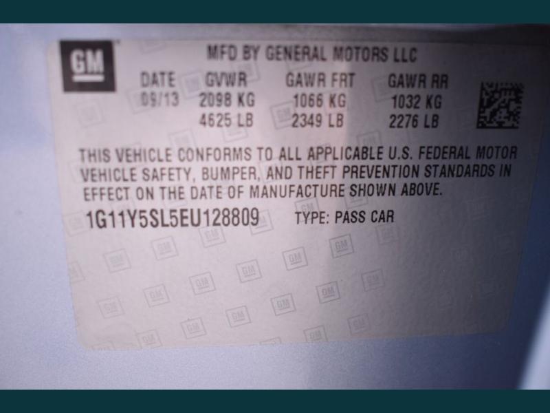 CHEVROLET IMPALA 2014 price $11,975