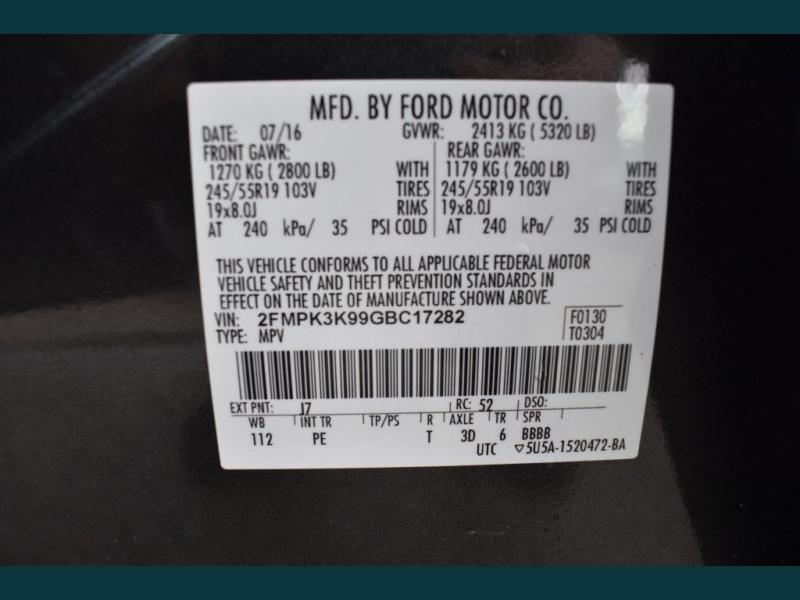 FORD EDGE 2016 price $17,495