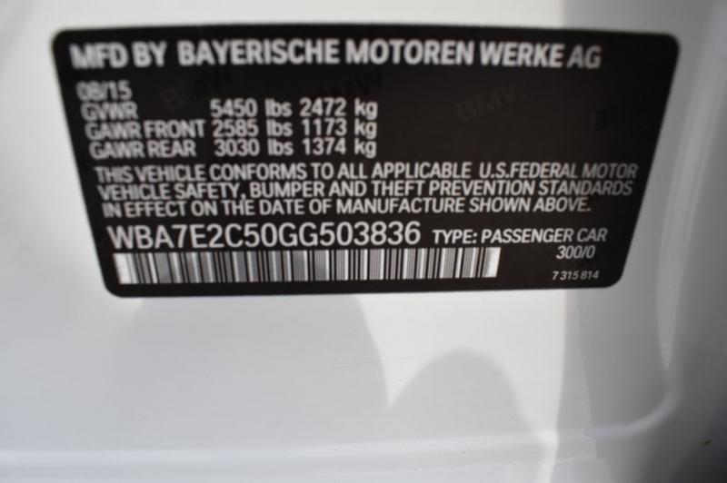 BMW 740 2016 price $33,990