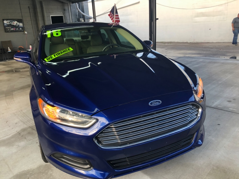 Ford Fusion 2016 price $2,500 Down