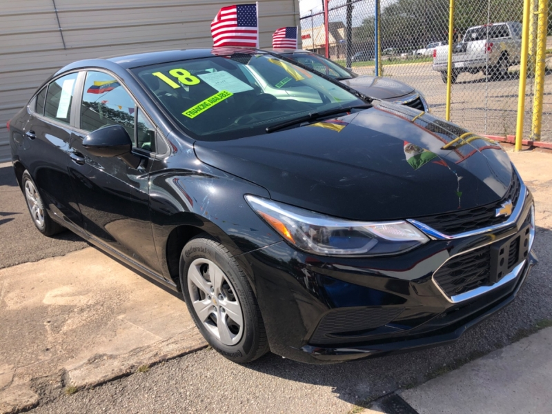 Chevrolet Cruze 2018 price $3,500 Down