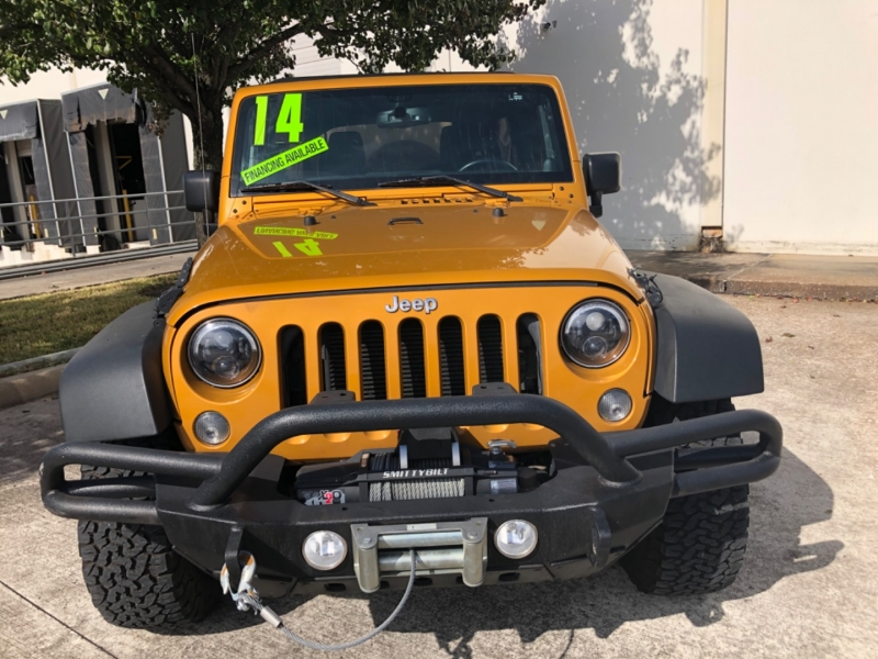 Jeep Wrangler Unlimited 2014 price $6,999 Down