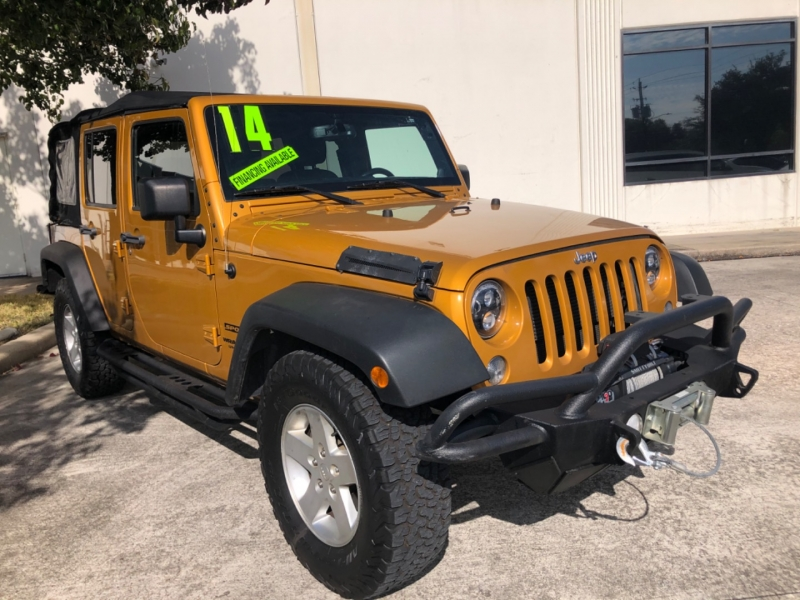 Jeep Wrangler Unlimited 2014 price $7,000 Down