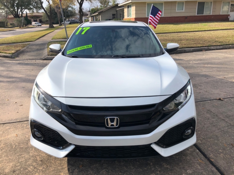 Honda Civic Hatchback 2017 price $3,499 Down