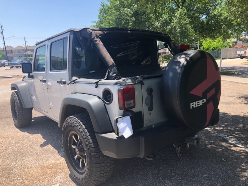 Jeep Wrangler Unlimited 2012 price $4,000 Down