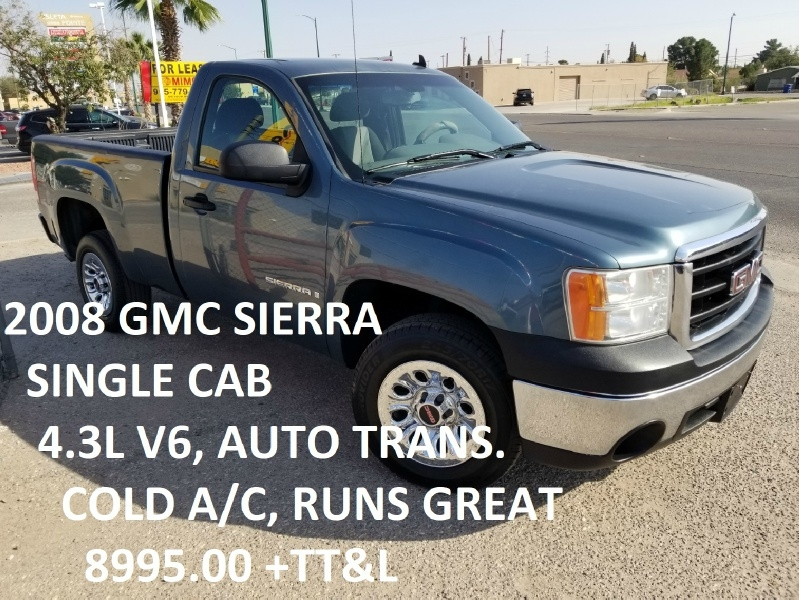 GMC Sierra 1500 2008 price $8,995