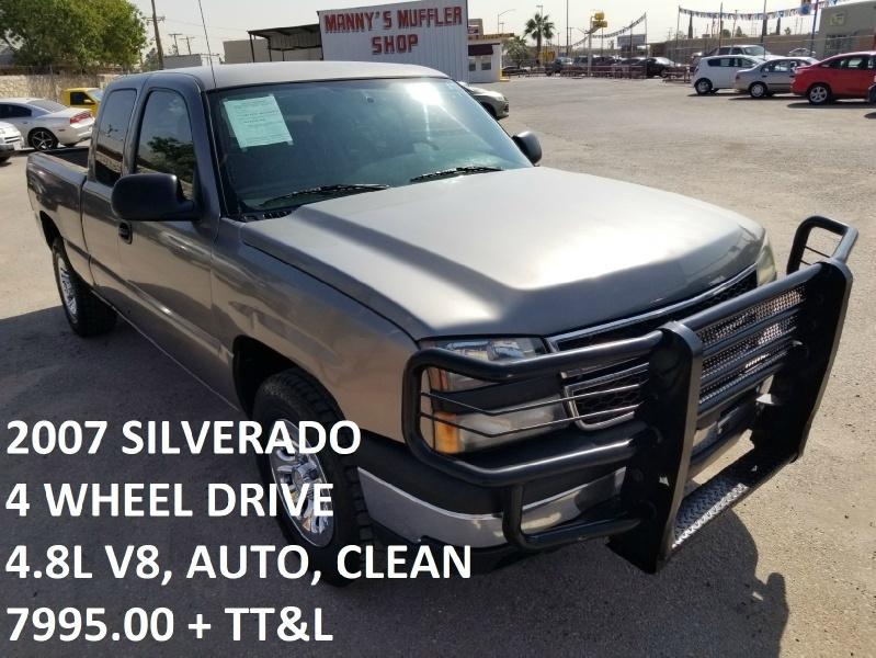 Chevrolet Silverado 1500 4X4 2007 price $7,995