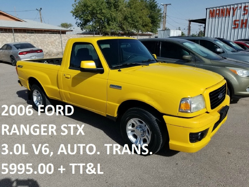 Ford Ranger 2006 price $5,995