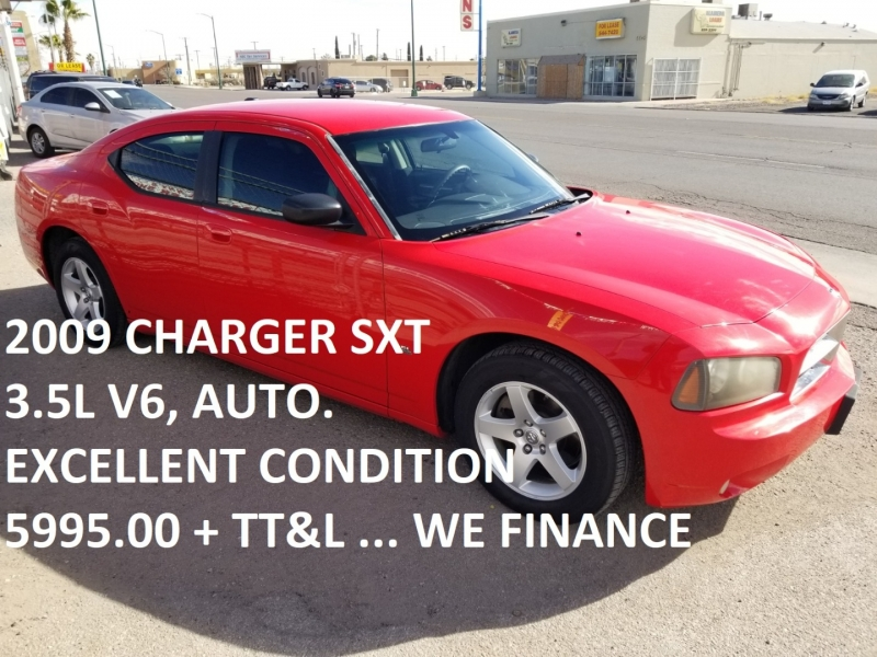 Dodge Charger 2009 price $5,995