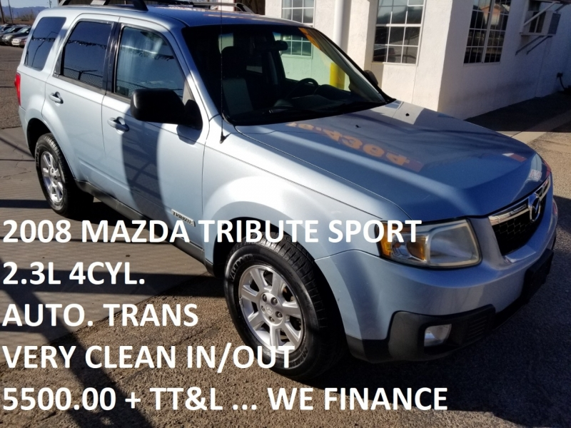 Mazda Tribute 2008 price $5,500
