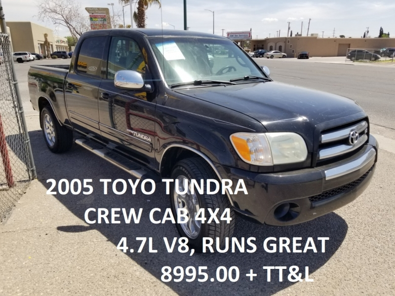 Toyota Tundra 2005 price $8,995