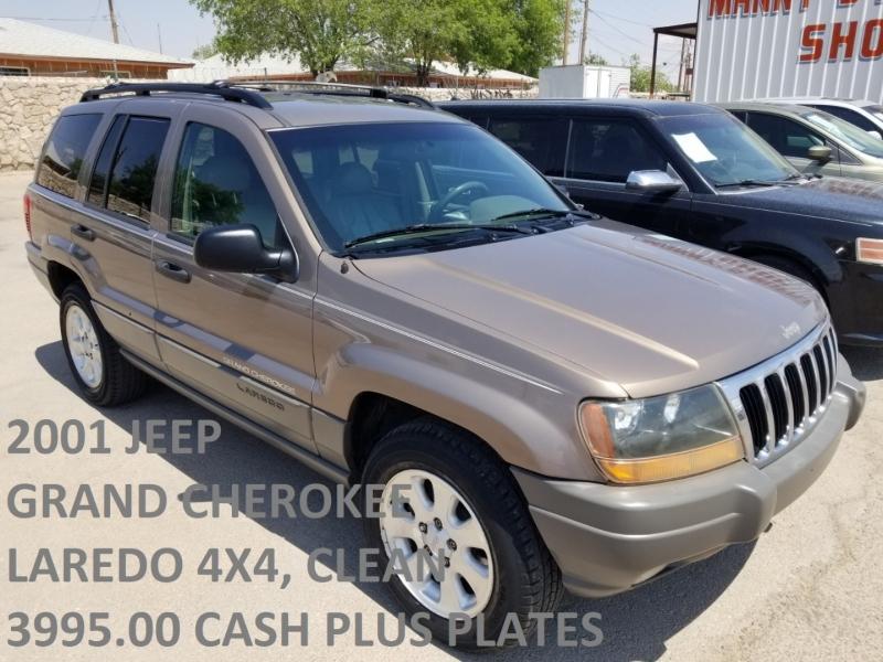 Jeep Grand Cherokee 2001 price $3,995 Cash