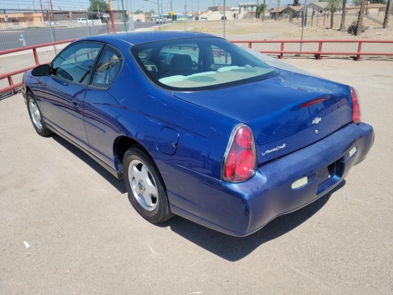 Chevrolet Monte Carlo 2004 price $3,995