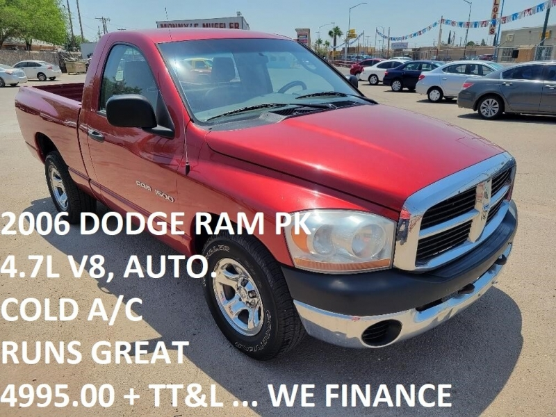 2006 Dodge Ram 1500 2dr Reg Cab 120.5 ST