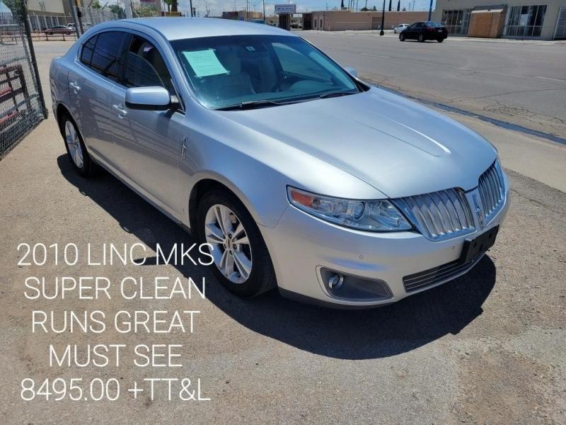 Lincoln MKS 2010 price $8,495