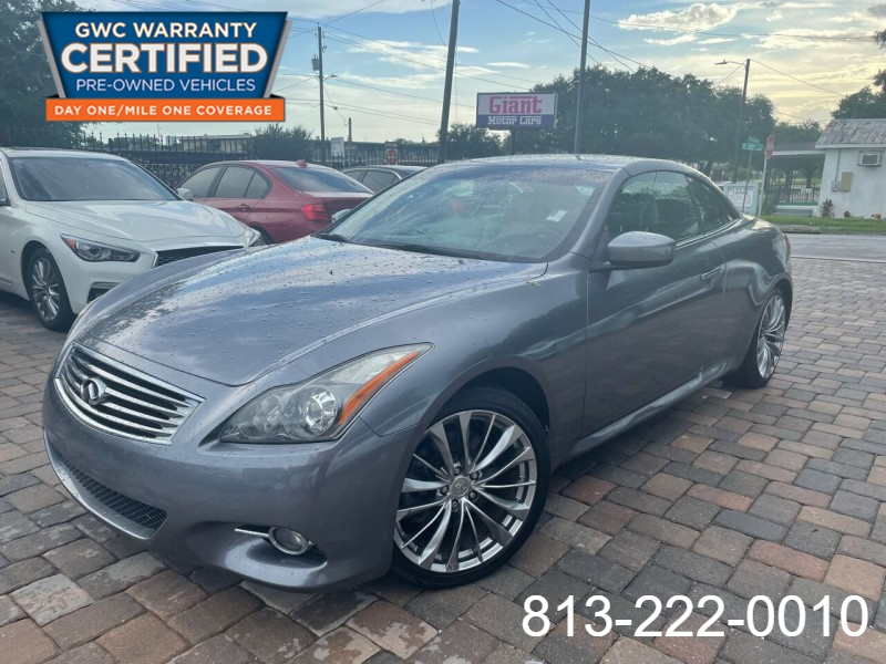 Infiniti G37 Convertible 2011 price Call for Pricing.