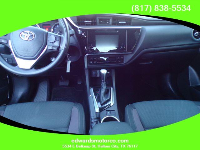 Toyota Corolla 2018 price $14,495