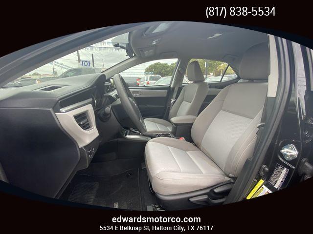 Toyota Corolla 2016 price $12,995
