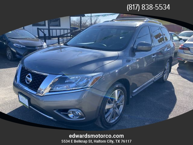 Nissan Pathfinder 2015 price $18,457