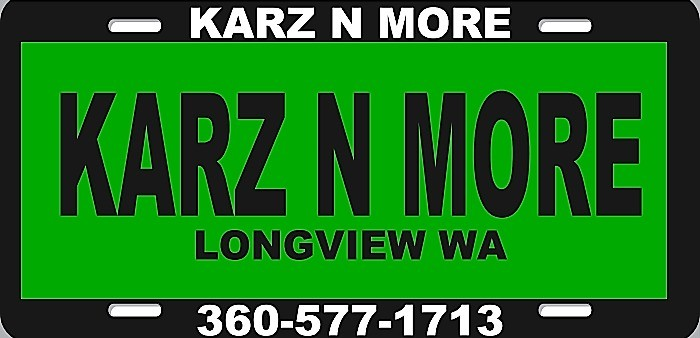 KARZ N MORE Inc 915 Tennant Way Longview Wa 98632 360-577-1713 2020 price $0