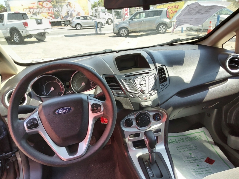 Ford FIESTA 2018 price $13,971