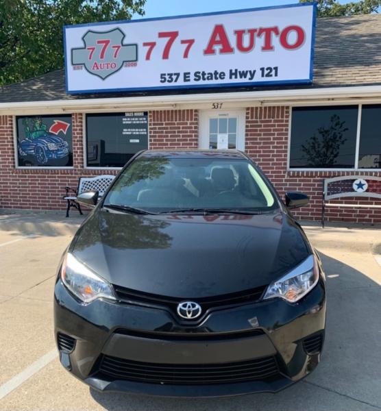 Toyota Corolla 2014 price 2000 Enganche
