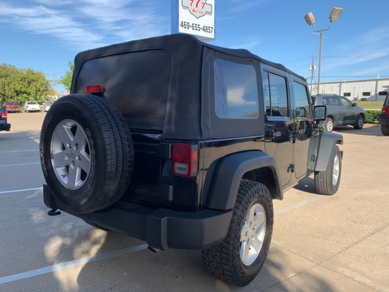 Jeep Wrangler Unlimited 2009 price 4000 Enganche