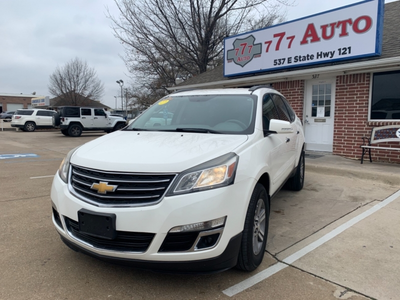 Chevrolet Traverse 2015 price 3000 Enganche