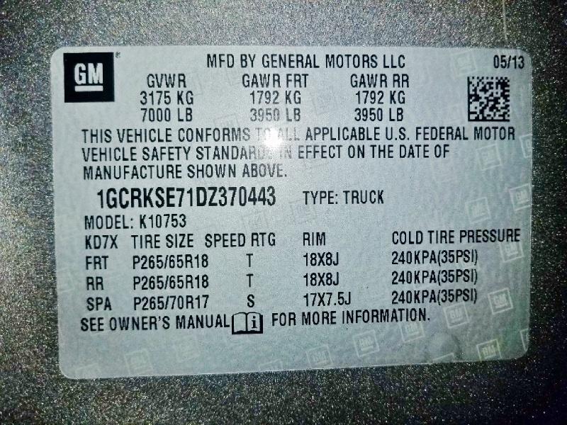 Chevrolet Silverado 1500 2013 price $17,250