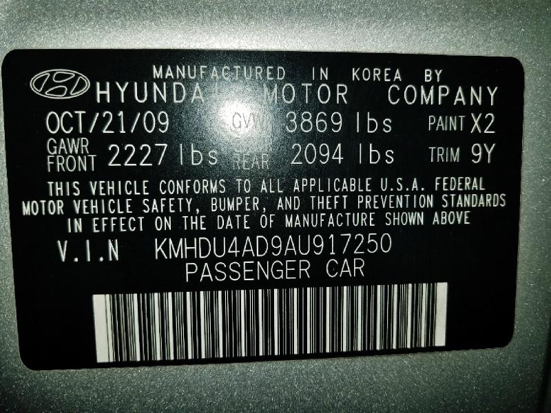 Hyundai Elantra 2010 price $5,450