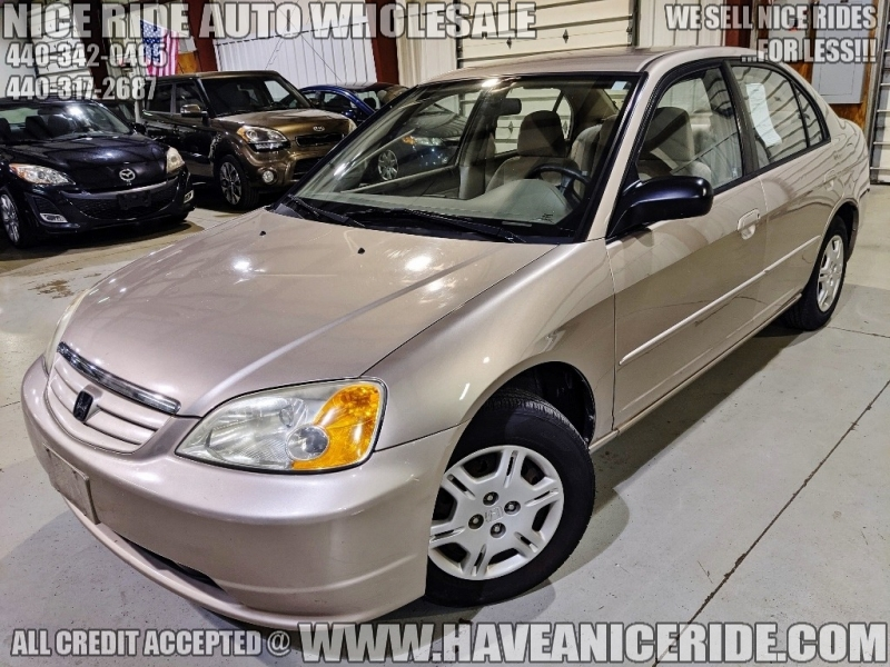 2002 HONDA CIVIC SEDAN LX Auto -137K- NICE RIDE
