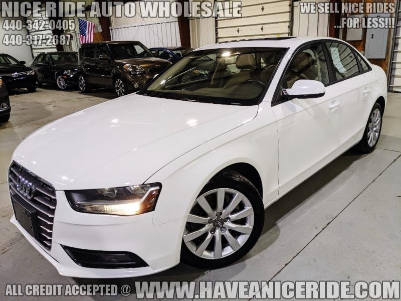 Audi A4 2013 price $12,350