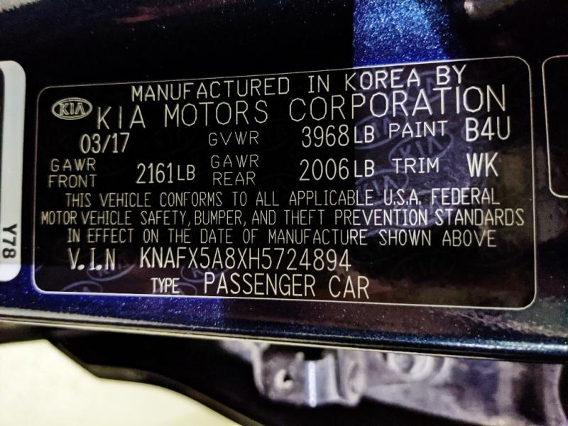 Kia Forte5 2017 price $14,450