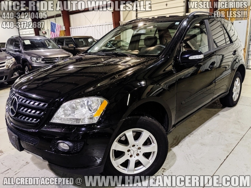 2006 MERCEDES-BENZ ML350 LUXURY SUV 4MATIC -152K- VERY SPECIAL OFFER!