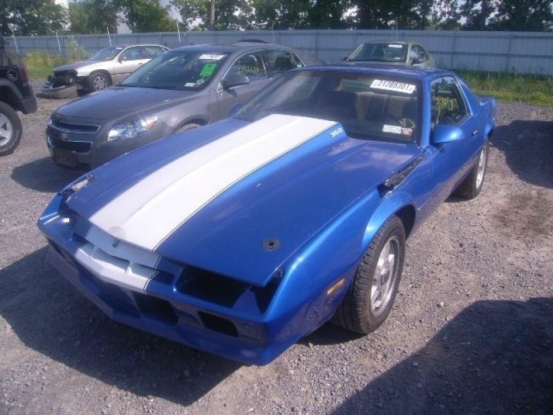 Chevrolet Camaro 1984 price 4,595