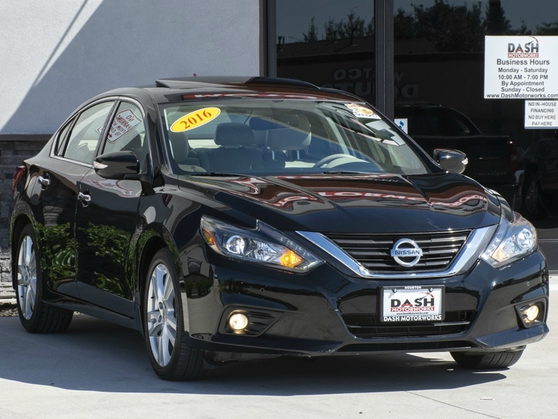 Nissan Altima V6 3.5 SL Navigation Camera Leather Sunroof 2016 price $13,995