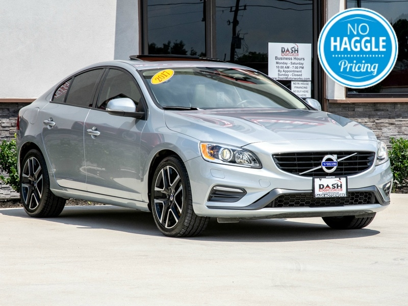 Volvo S60 T5 Dynamic Navigation Sunroof Leather Harman K 2017 price $15,595