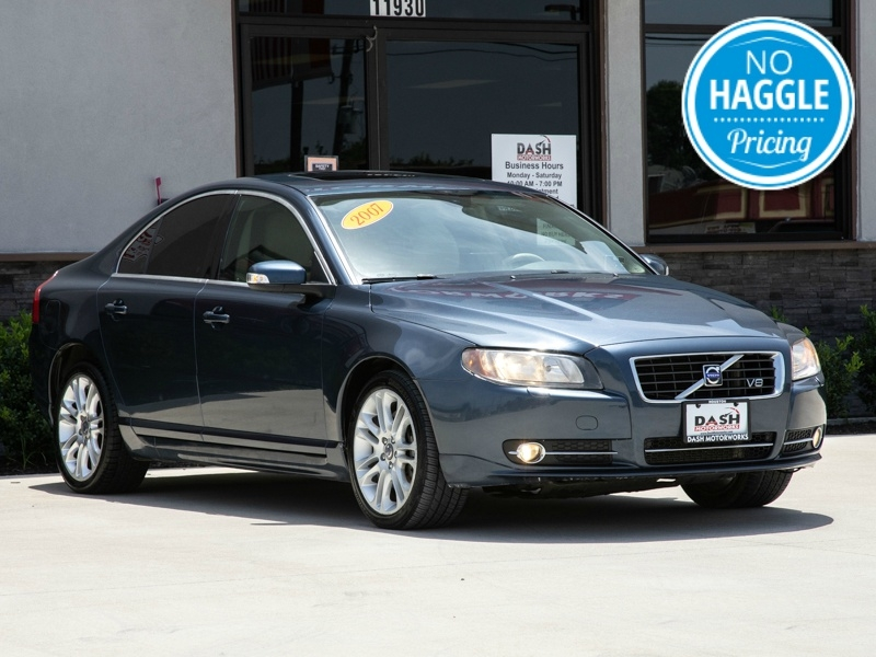 Volvo S80 V8 AWD Navigation Camera Sunroof Leather Dynau 2007 price $6,995