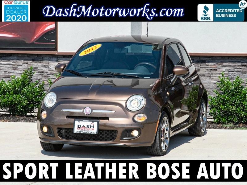 Fiat 500 Sport Leather Bose Alloys Auto 2012 price $4,995