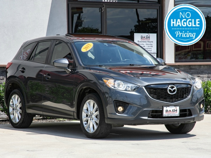 Mazda CX-5 Grand Touring AWD Navigation Moonroof Leather 2015 price $12,995