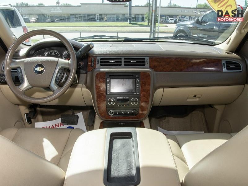Chevrolet Suburban LTZ Navigation Camera DVD Leather Chrome 2009 price $11,985
