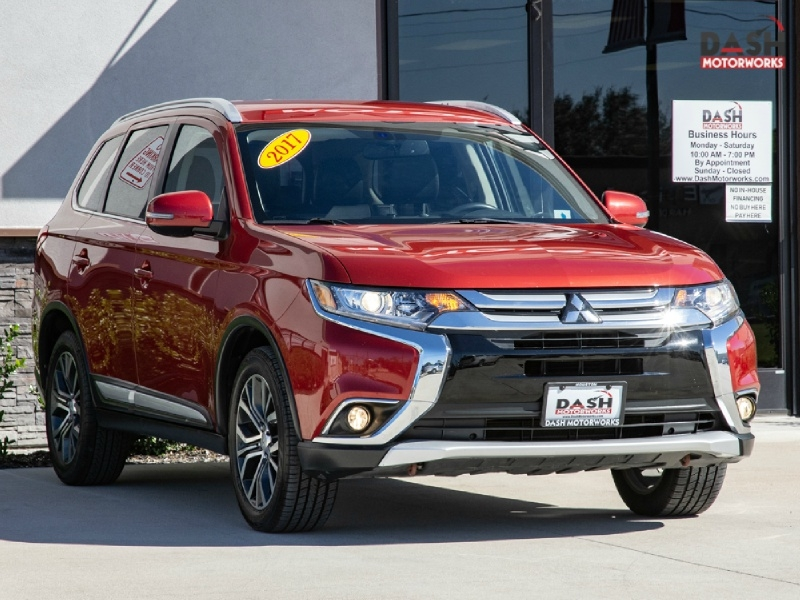 Mitsubishi Outlander SEL Leather Camera 7-Pass 2017 price $13,995