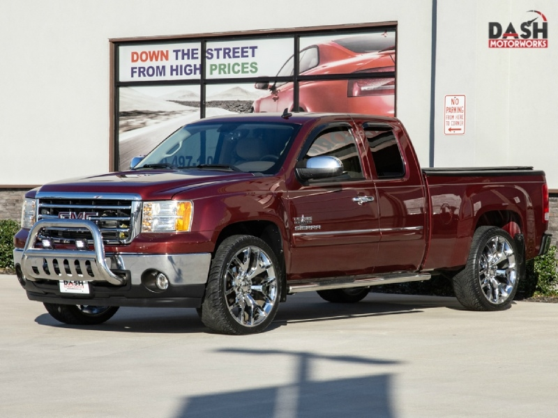 GMC Sierra SLE 5.3L Turbo Upgrade Chrome Wheels 2013 price $20,995